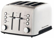 Russell Hobbs Heritage Vogue 4 Slice Toaster -  White