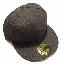 Kaws Original Fake x New Era 59FIFTY Cap Size 7 1/2 in Gray X Pattern Companion