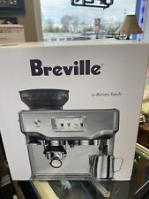 Breville Barista Touch Espresso Machine Brushed Stainless Steel NEW In Box! Wow!
