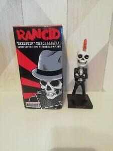 Aggronautix RANCID Skeletim Throbblehead Bobblehead Made Tim Armstrong