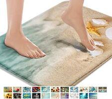 Bathroom Mats Rugs No Silp, Beach Starfish Sea Shell16x24