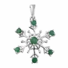 TJC Natural Emerald Fine Necklaces & Pendants