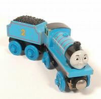 EDWARD Thomas The Tank Engine & Friends Wooden Railway Set Train fit Brio Rare