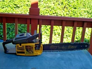 """McCulloch Timber Bear Chainsaw with 18"""" Bar"""