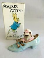 Vintage 1959 John Beswick Beatrice Potter Figurine OLD WOMAN WHO LIVED IN A SHOE