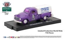 M2 Machines Auto-Drivers 1:64 R46 1950 Studebaker 2R Truck Purple PEZ CHASE