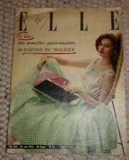 ELLE, französische Zeitschrift für Vintagefans, August 1953
