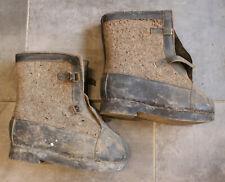 Original German WW 2 Soldier Winter Boots - East Front 1942 - Wachmannschaft
