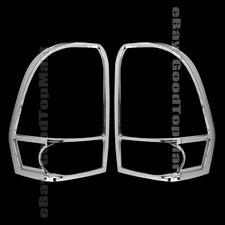 For 2002-2008 2009 Chevy TRAILBLAZER 2 Chrome REAR Tail Light Taillight Covers