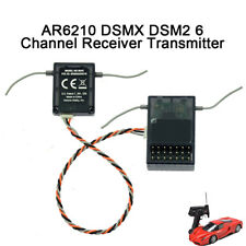 Spektrum AR6210 DSM-X 6-Channel DSM2/DSMX Receiver+Satellit Spektrum Transmitter