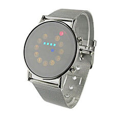 Hombres Relojes Fashion Men Watch Digital LED Watch Sport Watch Stainless Steel