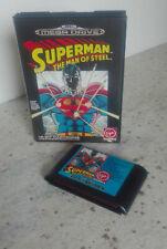 SUPERMAN - THE MAN OF STEEL Mega Drive (no manuale) PAL MegaDrive