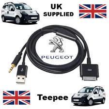 Cables y extensiones de accesorios electrónicos para coches Peugeot