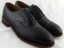 240941 MS50 Men's Shoes Size 10.5 M Black Leather Lace Up Johnston & Murphy