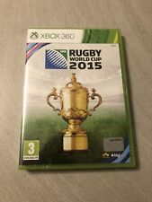 NEUF NEW IRB rugby world cup 2015 XBOX 360 blister sealed francais