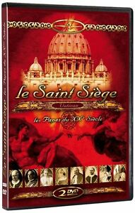 Vatican : le saint siège + Les Papes du XXe siècle - 2 DVD - NEUF - VF