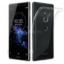 For Sony Xperia XZ2 Transparent Clear Silicone Slim Gel Case