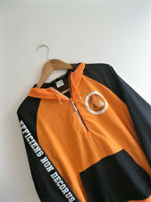 Nike Sportswear | Hombres Naranja Varsity Chaqueta con Capucha Pista De Nylon Rompevientos | S