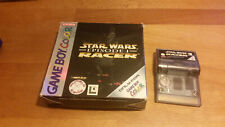 Star Wars Racer Gameboy Color OVP CIB Boxed