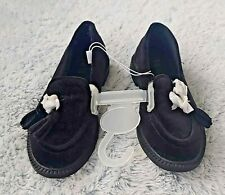 Sold Out ZARA Boys Size US 11.5 / EU 20 Kids Velvet Chic Dress Shoes Black New