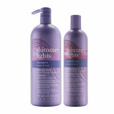 Clairol Professional Shimmer Lights Set: 31.5 oz Shampoo + 16 oz Conditioner
