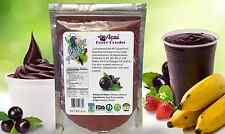 ACAI berry powder Assai 16oz 1lb Natural Superfood Antioxidant Paradise Powder