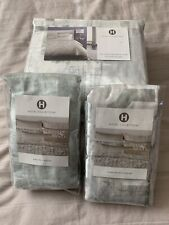 Hotel Collection Fresco Sage F/Queen Duvet Cover,Two Standard & One Euro Shams.