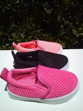 New  Slip On Canvas Shoes, For Toddler Girls. Many Sizes.