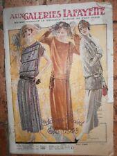 Aux galeries lafayette été 1923 catalogue général