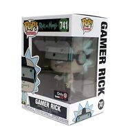 Funko Pop Rick and Morty GAMER RICK 741 Gamestop Exclusive Vinyl MINT IN HAND