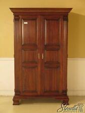 43390E: STATTON Oxford Cherry 2 Door Armoire Wardrobe Cabinet