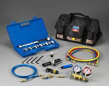 Yellow Jacket 60991 Mini-Spit Tool Kit With R-22/407C/410A Heat Pump Manifold