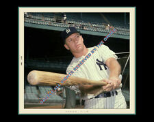 MICKEY MANTLE PHOTO       1961 SUMMER SUPERB 8 BY 10 ORIG SOURCE READY TO FRAME