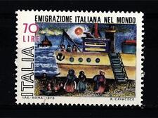 ITALIA REP. - 1975 - Emigrazione italiana nel mondo -