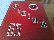 Oakville Trafalgar Yearbook 1964-1965 Halton Ontario Pleiad
