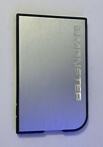 Monster Powercard Ultra Thin Smartphone Charger 1650mAh Power Bank USB Silver