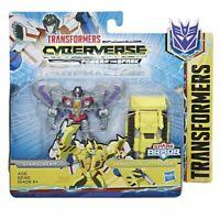NEW Transformers Cyberverse Spark Armor Starscream & Demolition Destroyer Figure