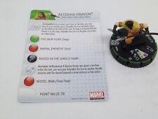 Heroclix Amazing Spider-Man set Alyosha Kraven #031b Prime figure w/card!