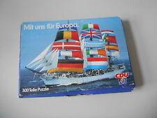 SPIEL CDU - Puzzle : Mit uns für Europa (300 Teile/Parts) EIGENVERLAG