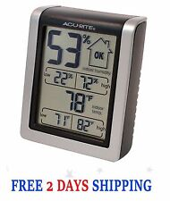 Indoor Humidity Meter Thermometer Digital Monitor Hygrometer Acu Rite 00613A1