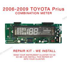 2004-2009 Toyota Prius Cluster Combination Meter Dash Repair kit we Install