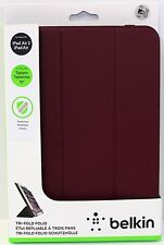 "Belkin TriFold Universal Folio Case Samsung, Android Apple iPad air 1/2 10"" Tab"