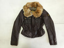 BELSTAFF GOLD VINTAGE JACKET CAPPOTTO COAT