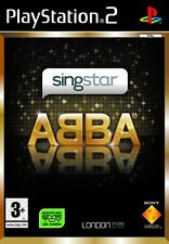 Jeu pour Playstation 2 PS2  Singstar ABBA   Neuf  Sous Blister