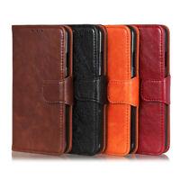 Luxury Wallet Leather Flip Case Cover For Motorola Moto G7 Plus G6 Play G8 Power