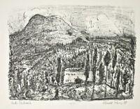 Ronald Paris - In der Toskana - Lithographie - 1978 - 14/18