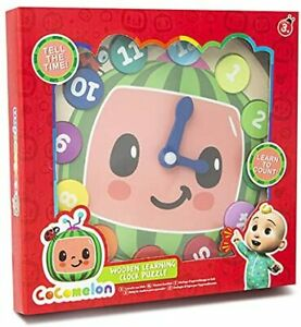 Cocomelon Wooden Learning Clock