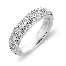 NEW Genuine Ti Sento Sterling  Silver CZ set  ring 1304ZI Size 58 £89
