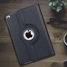 [Multi-Angle] Black Matte Leather Kickstand Case Cover For iPad Mini 1 2 3 4 5