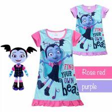 New Kids Vampirina Top T Shirt Dress Nightwear Nightdress Pyjamas Clothes 2018